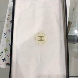 Chanel vintage gold CC sandals